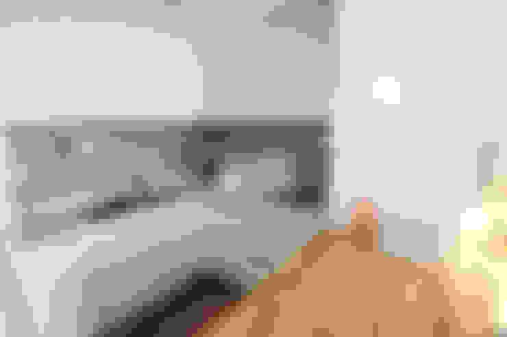 염창동 79㎡ 인테리어: 바라봄디자인의  주방