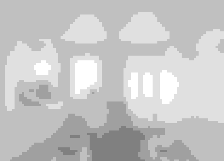 Casa das Muralhas: Cozinhas  por Corpo Atelier