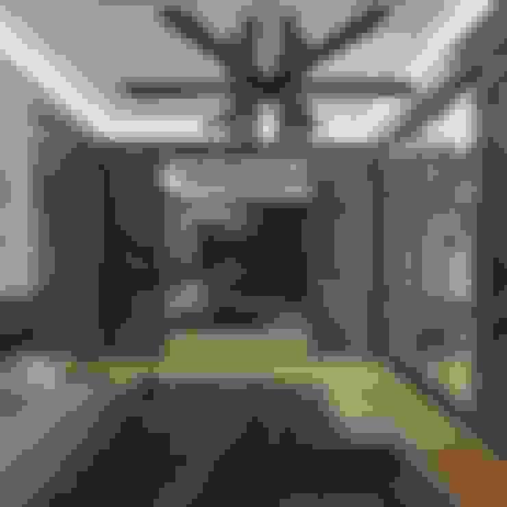 Nuevo Tasarım – Ankara Park Vadi Ev Projesi:  tarz Yatak Odası