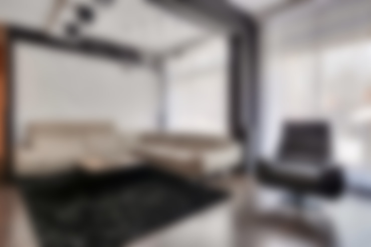 Salas / recibidores de estilo  por Loft Design System Deutschland - Wandpaneele aus Bayern