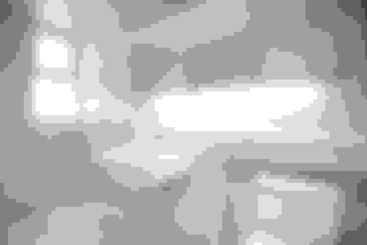 부산 해운대 센텀파크 아파트 인테리어: 로하디자인의  욕실