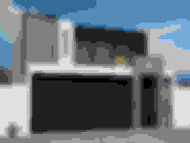 Casas de estilo  por Dehonor Arquitectos