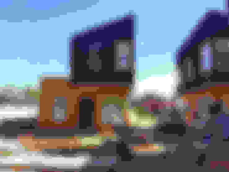 Condominios de estilo  por NidoSur Arquitectos - Valdivia