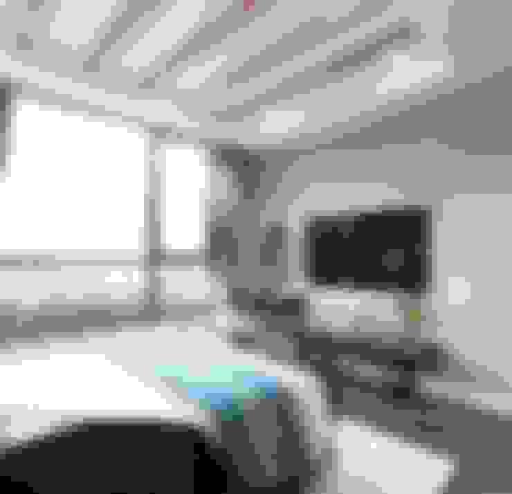 CĂN HỘ CAO CẤP ĐẦY SỨC SỐNG VỚI PHONG CÁCH THIẾT KẾ NỘI THẤT ĐỊA TRUNG HẢI:  Phòng ngủ by ICON INTERIOR
