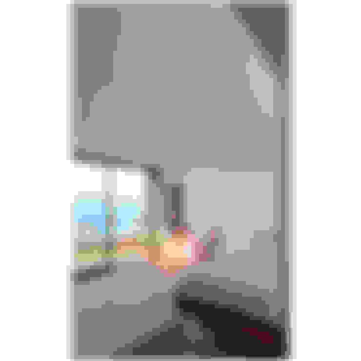 Acoplado Vagón Cartagena: Dormitorios de estilo  por Crescente Böhme Arquitectos