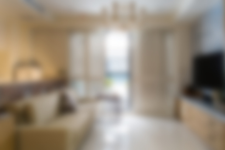 Phòng khách by 松泰室內裝修設計工程有限公司