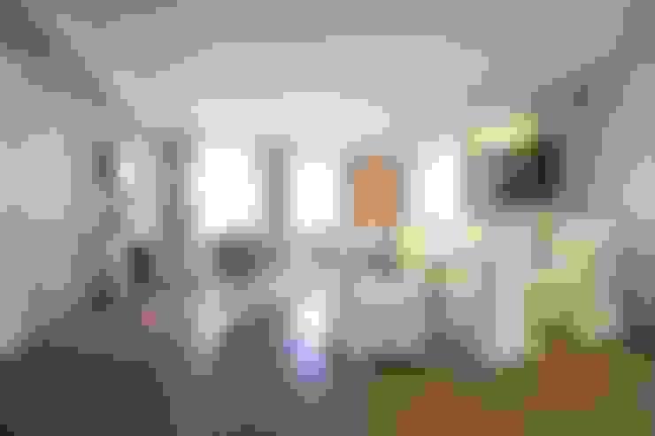 Salas / recibidores de estilo  por GIAN MARCO CANNAVICCI ARCHITETTO