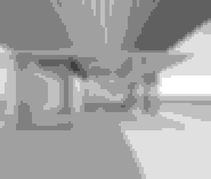 Terraza patio hacia el interior : Livings de estilo  por D01 arquitectura