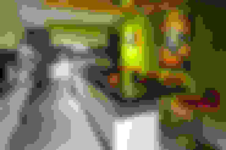 Cucina in stile  di 黃耀德建築師事務所  Adermark Design Studio