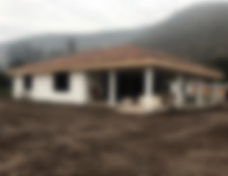 casa de campo: Casas de estilo  por ATELIER3