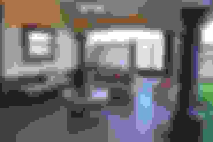 بلكونة أو شرفة تنفيذ arketipo-taller de arquitectura