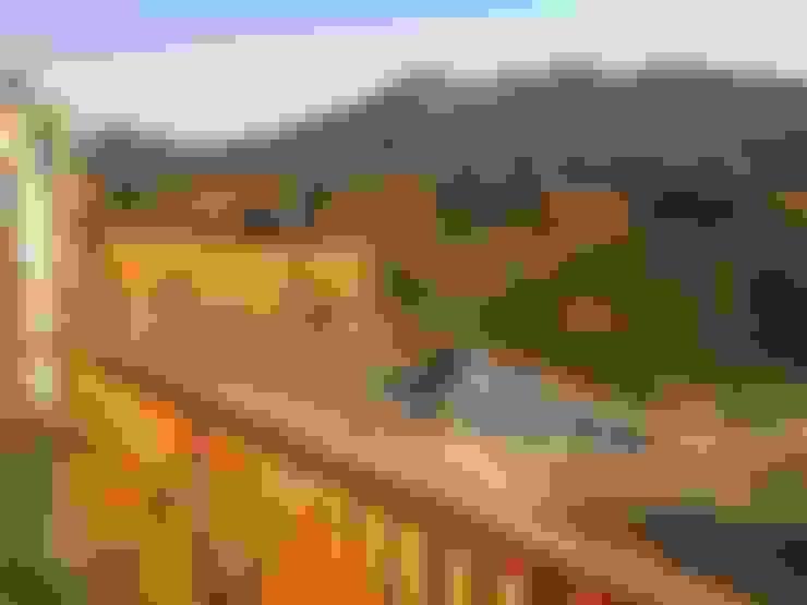 TERRAZA: Casas unifamiliares de estilo  por ARKITEKTURA
