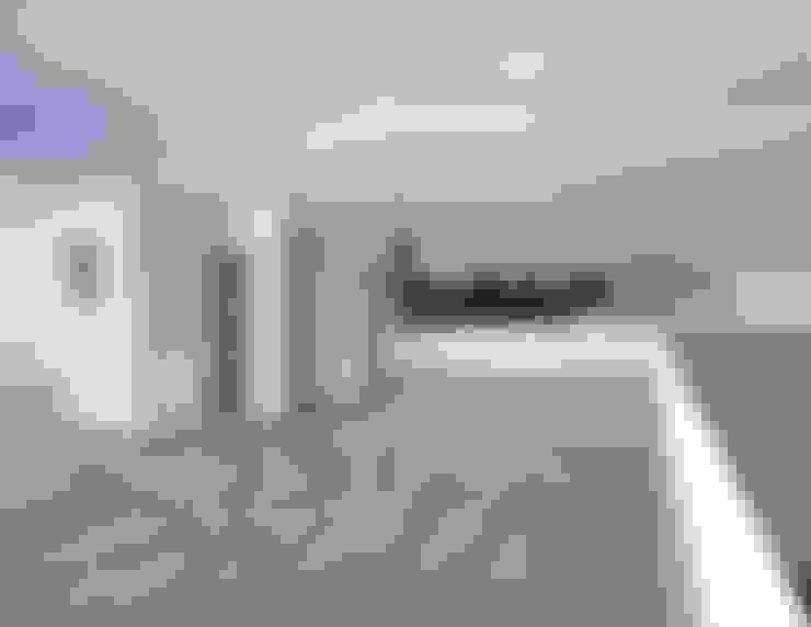 Terrazas de estilo  por Integra Arquitectos