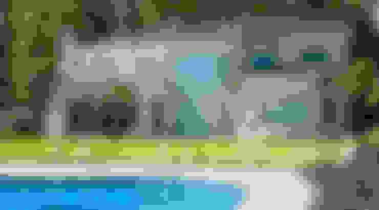 Casa Abril Club de Campo: Casas de estilo  por ARQCONS Arquitectura & Construcción