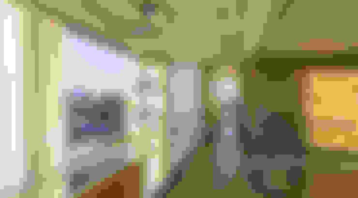 Corredores e halls de entrada  por ARQCONS Arquitectura & Construcción
