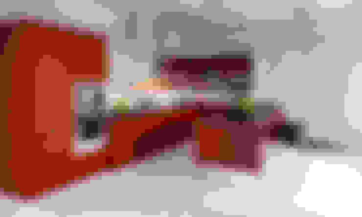 مطبخ ذو قطع مدمجة تنفيذ Diseño & Estilo