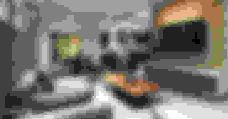 Salas / recibidores de estilo  por CODIAN CONSTRUCTORA