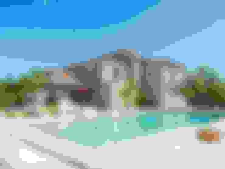 Gartenpool von Diego Cuttone, arquitectos en Mallorca