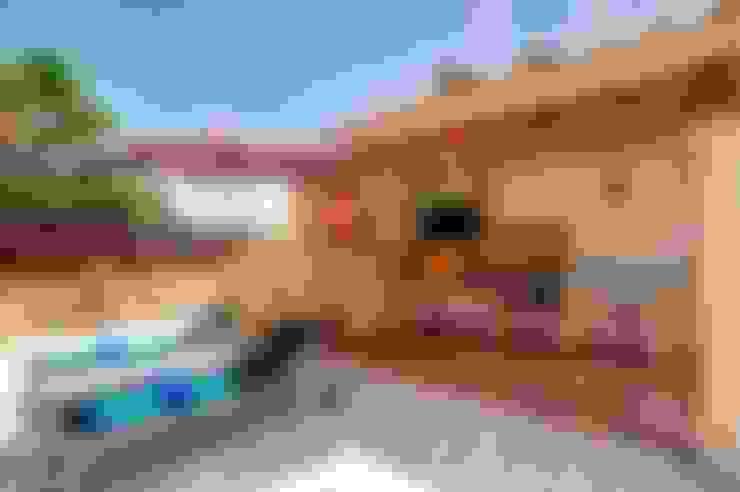 Terrazas de estilo  por Diego Cuttone, arquitectos en Mallorca