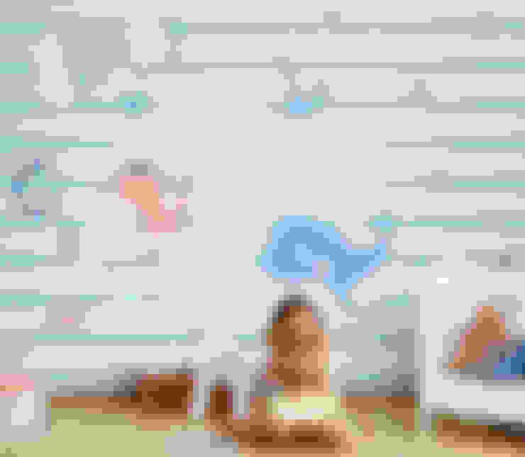 Paredes y pisos de estilo  por Baby Interior Design