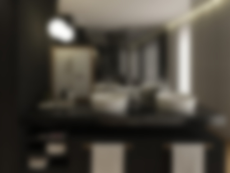 Bathroom تنفيذ 411 - Design e Arquitectura de Interiores