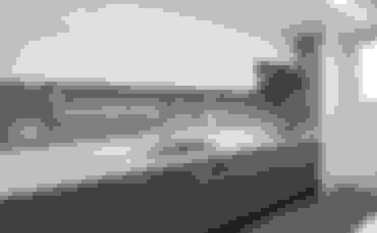넓게, 더 넓게! 송도 캐슬앤해모로 인테리어: 디자인 아버의  주방