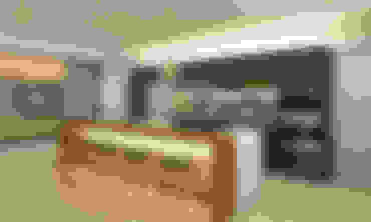 Kitchen by Luis Escobar Interiorismo