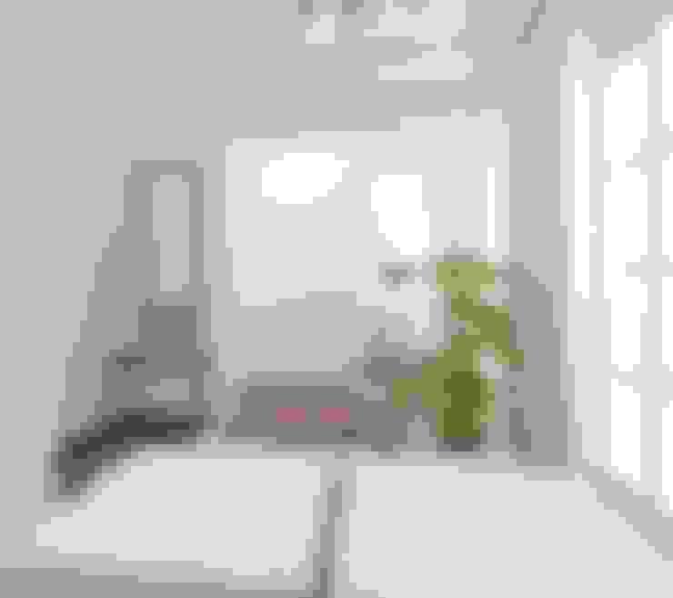 Kamar Tidur dan Wardrobe:  Kamar Tidur by Atelier BAOU+