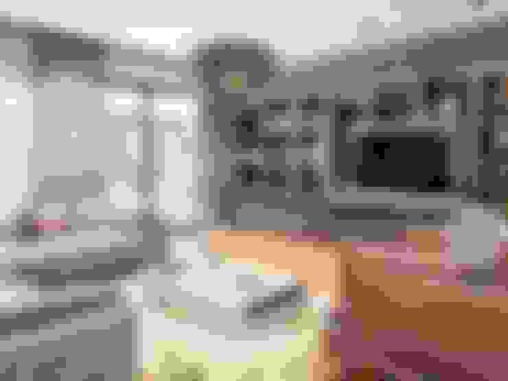 غرفة المعيشة تنفيذ ANTE MİMARLIK