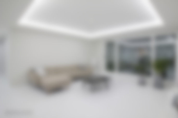 Living room by N디자인 인테리어