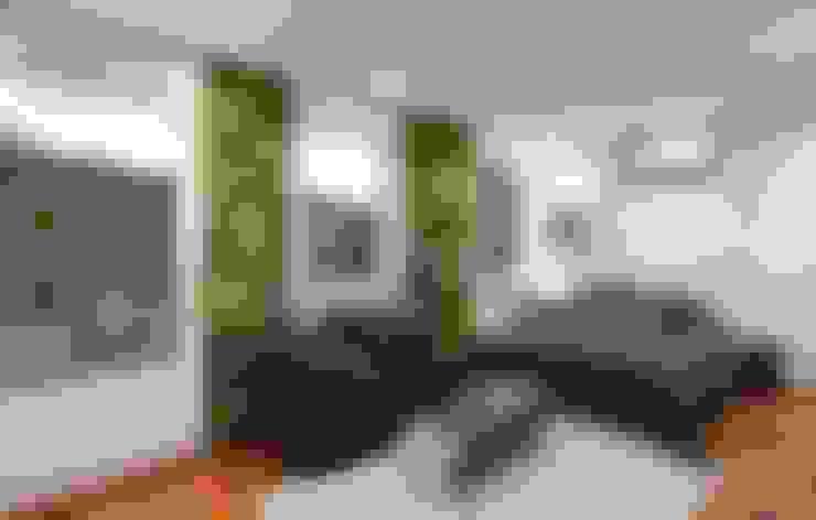 SKY İç Mimarlık & Mimarlık Tasarım Stüdyosu – YOSUN DUVAR & DİKEY BAHÇE ÇALIŞMALARI:  tarz İç Dekorasyon