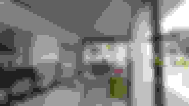 Projekty,  Salon zaprojektowane przez Módulo 3 arquitectura
