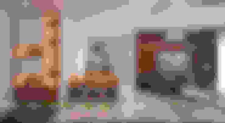 Dining room by UK DESIGN STUDIO - KIẾN TRÚC UK