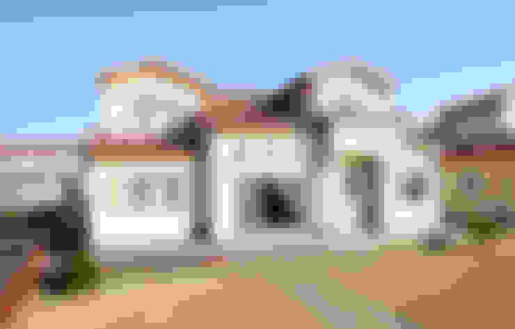 주택외부: 더존하우징의  목조 주택