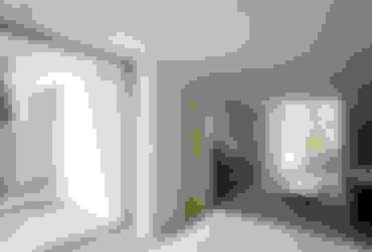 غرفة نوم تنفيذ 松岡淳建築設計事務所
