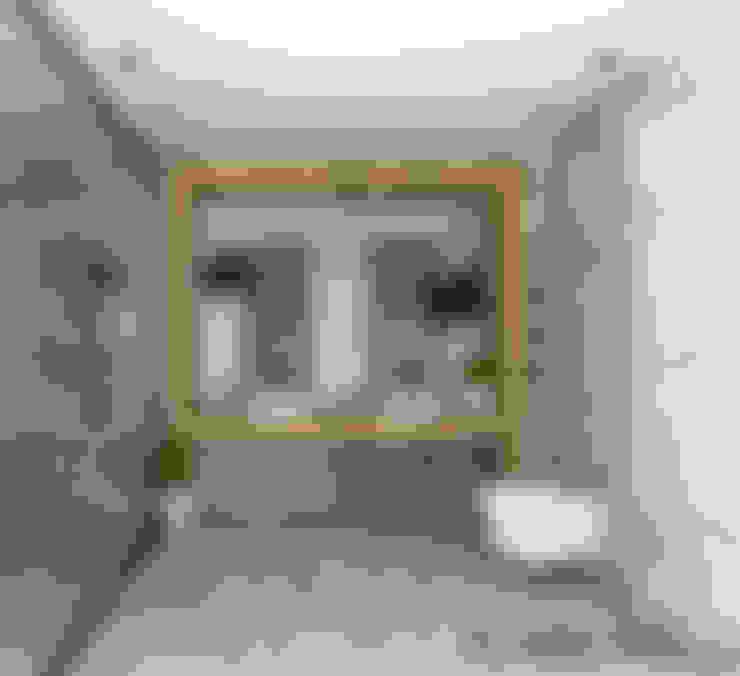 SKY İç Mimarlık & Mimarlık Tasarım Stüdyosu – Bodrum Villa Projesi:  tarz Banyo