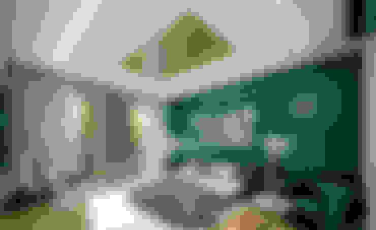 Kleine slaapkamer door COUTIÑO & PONCE ARQUITECTOS