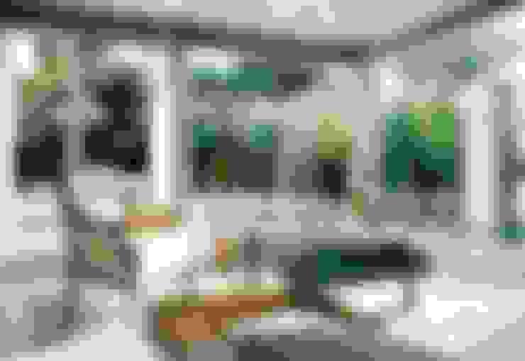 Salas / recibidores de estilo  por Officina Boarotto
