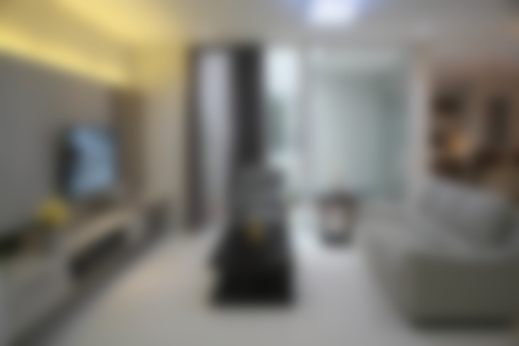 Ruang Keluarga:  Ruang Keluarga by Exxo interior