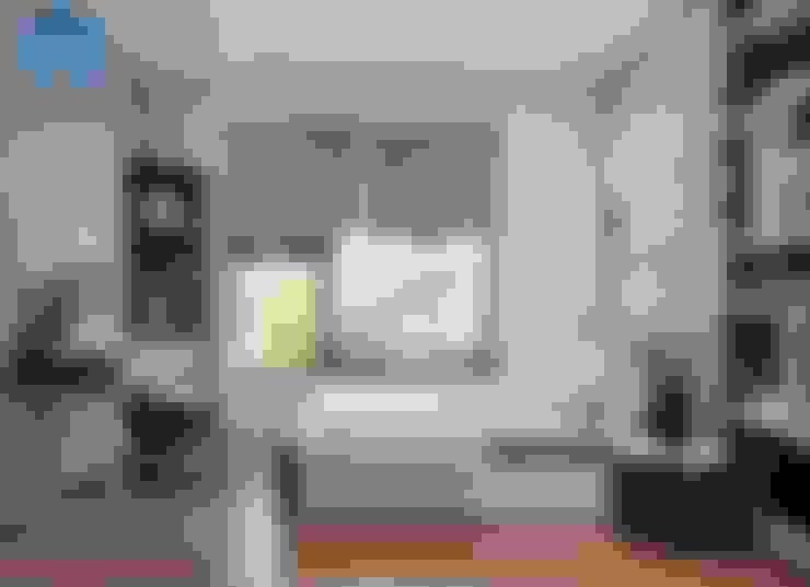 Nội thất phòng ngủ nhỏ cho con trai với thiết kế khá đơn giản:  Phòng ngủ nhỏ by Công ty TNHH Nội Thất Mạnh Hệ