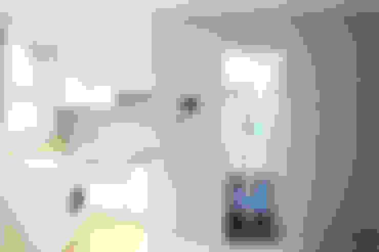 동소문동 오피스텔 더에이트: 오파드 건축연구소의  거실