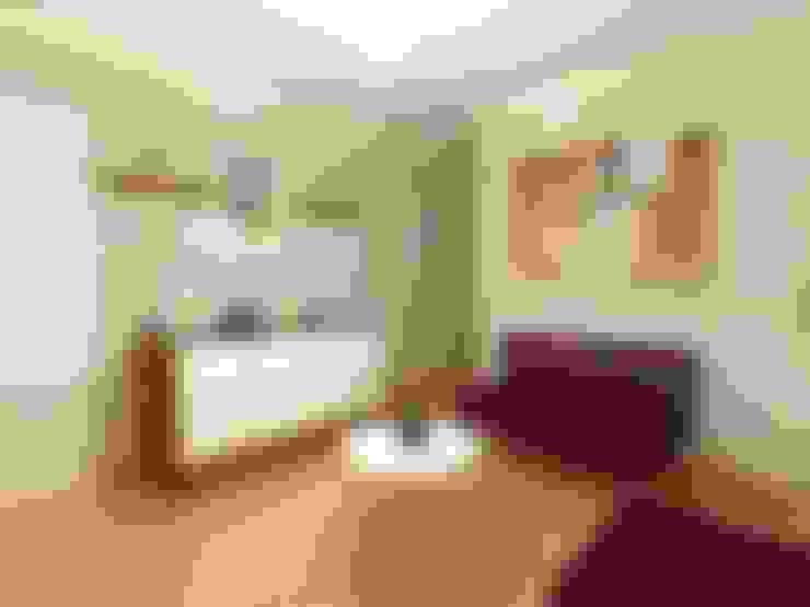 Recibidor: Salas / recibidores de estilo  por Inspira
