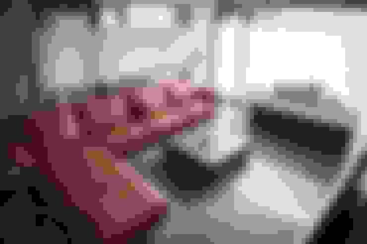Living room by 勻境設計 Unispace Designs
