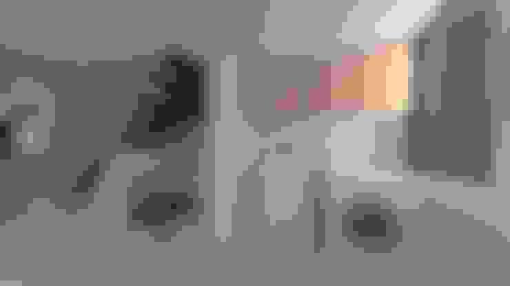 | PROYECTO LOFT | - Vista Lavandería: Anexos de estilo  por Giovanna Solano - DLuxy Muebles Design