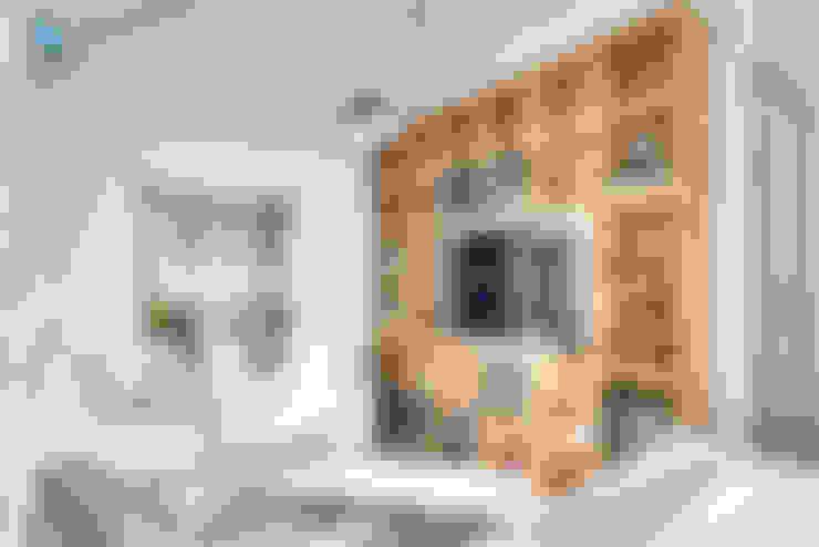 Sala de estar: Livings de estilo  por NidoSur Arquitectos - Valdivia