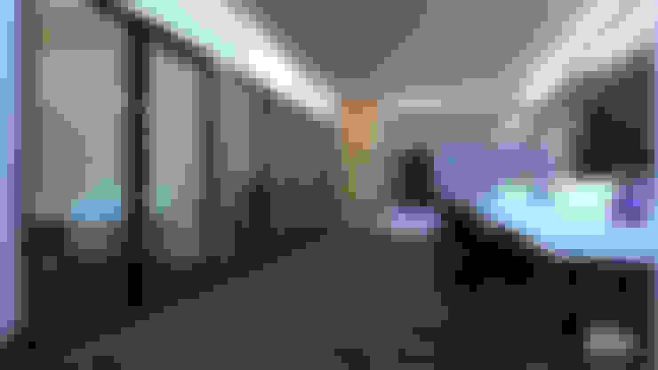 書房/辦公室 by VillaSi Construcciones