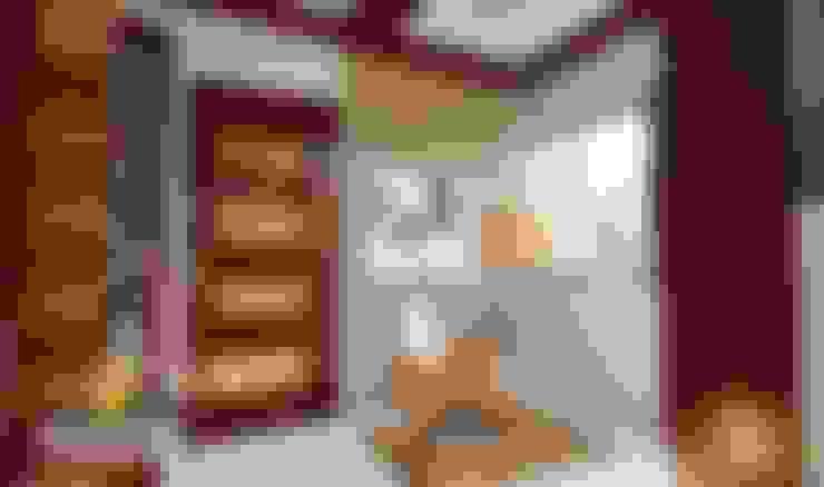 Recibidor: Salas / recibidores de estilo  por ROQA.7 ARQUITECTOS