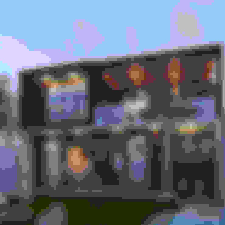 Casas unifamiliares de estilo  por 3C Arquitectos S.A. de C.V.