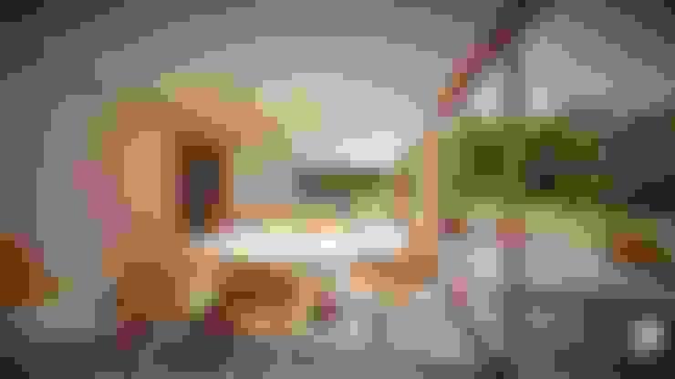 Dining room by Territorio Arquitectura y Construccion - La Serena