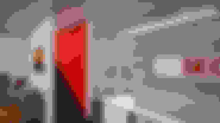 Oficinas Seca: Estudios y oficinas de estilo  por simbiosis ARQUITECTOS